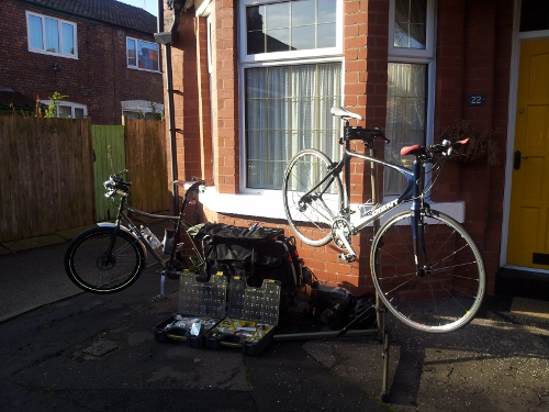 Mobile Bicycle Servicing Al Fresco