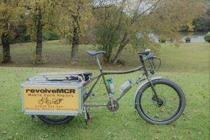 A complete mobile workshop on a cargo bike!